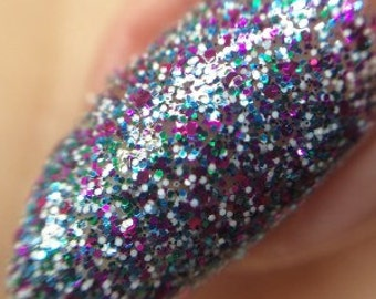 Microglitter nail polish - ladies who lacquer 15ml