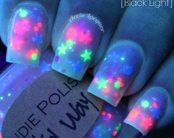 UV reactive Nail polish Milky way  - #1 selling polish for 5 years lg
