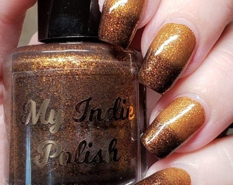 Halloween thermal nail polish - Halloween nails - fall trio 2020 - Halloween 2020 15 ml
