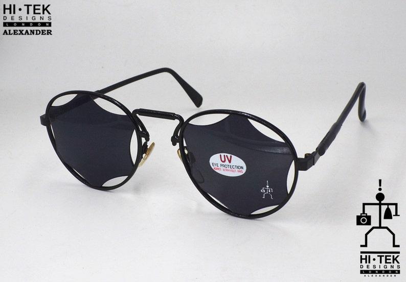 957a24114c3 Christmas gift Hi Tek Alexander round sunglasses Steampunk