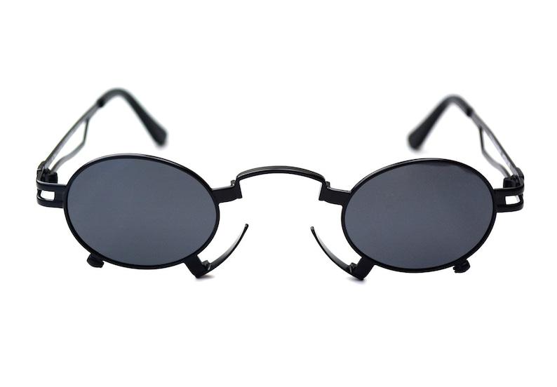 9b78709a755b6 Salut Tek Alexander cadre en métal ovale lunettes de soleil