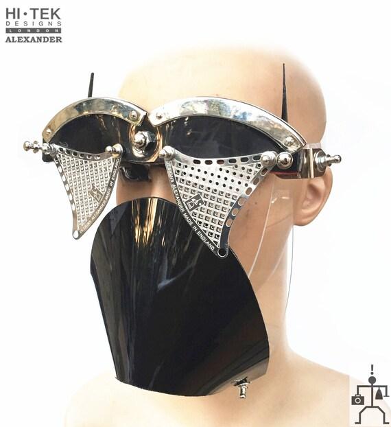 a61a5485e683 Hi Tek Alexander handmade futuristic modern futuristic sci fi   Etsy