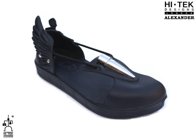 Salut de la main unisexe de Tek Alexander goth aile inhabituelle unique futurisitc inhabituelle aile plage sandal 1c3f72