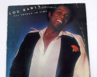 Lou Rawls All Things in Time 1976 Vinyl LP Record Album BL 33957
