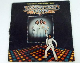 Saturday Night Fever Soundtrack Gatefold 2 Vinyl LP Record Album 2685 123