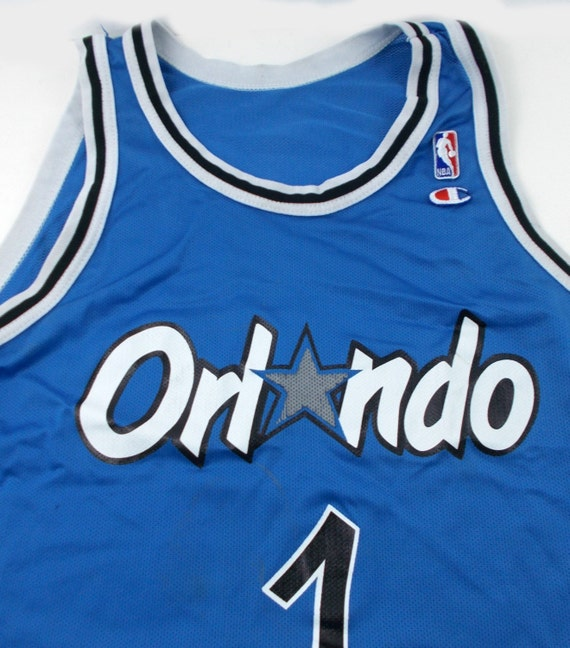 3ca05680b7d 90s Champion Orlando Magic Penny Anfernee Hardaway Vintage