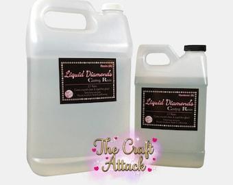 Liquid Diamonds epoxy 1.5 gallons (192 oz) FREE SHIPPING!