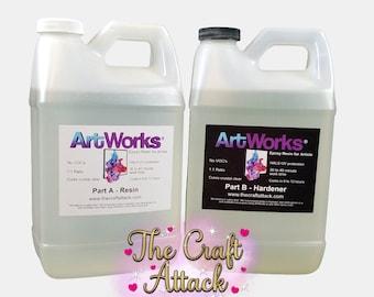 ArtWorks epoxy resin - Gallon kit (FREE SHIPPING!)