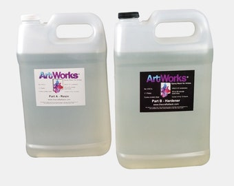 ArtWorks epoxy resin - Two Gallon kit (FREE SHIPPING!)