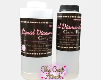 Liquid Diamonds epoxy resin 24 oz. - FREE SHIPPING