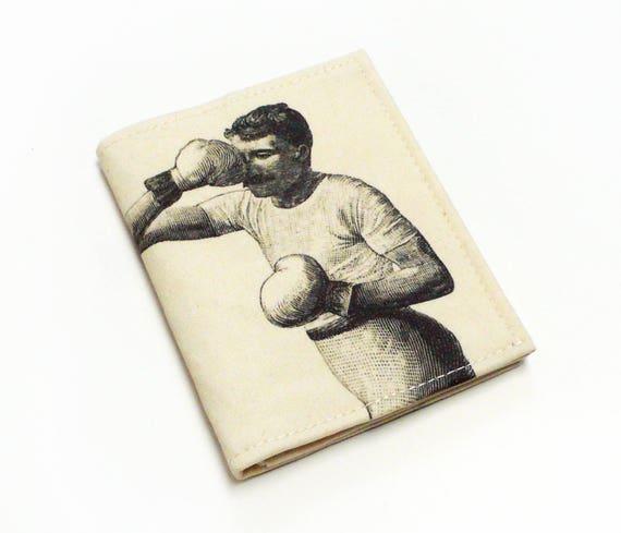 Petit porte-monnaie portefeuille. Porte monnaie en Boxers. Portefeuille unisexe. Cardhodler. Cadeau de la boxe. Dessin Vintage