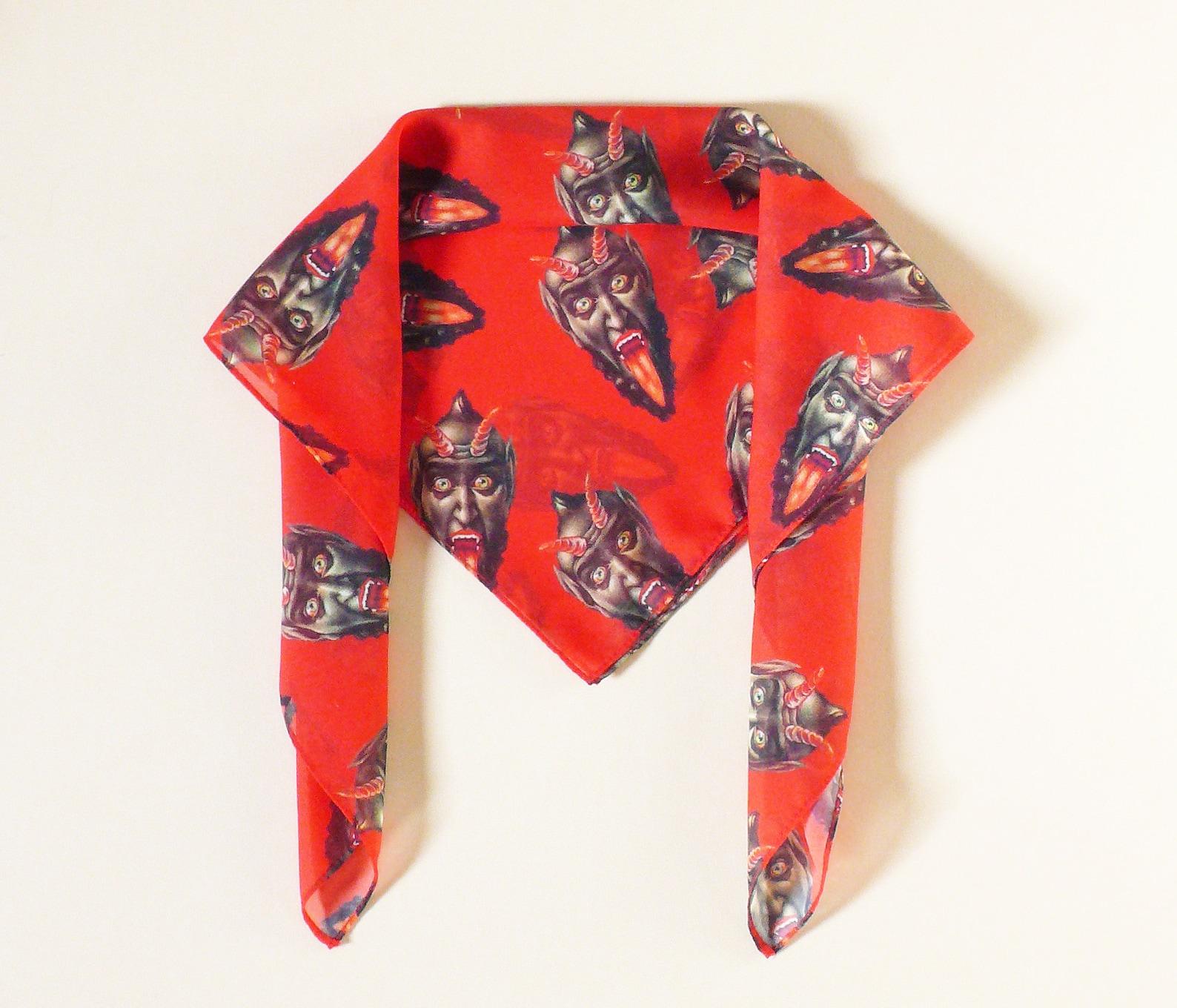 Krampus scarf