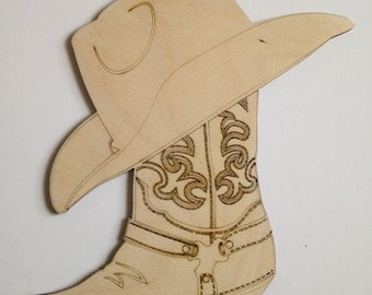 1e2d28787b0 Country Western Cowboy Hat and Boot