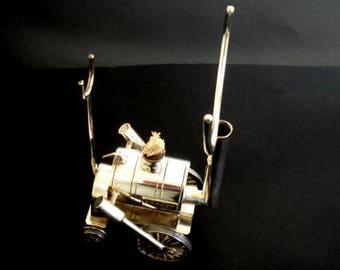 Stephenson's Rocket Glass Spirit Warmer  - Top Condition