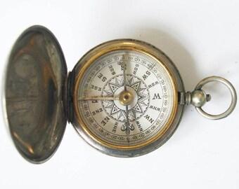Antique Pocket Compass - Short & Mason Dial 1915 (CP18)