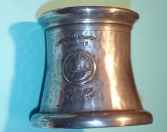 Vintage Petwer Drinking Mug 1935