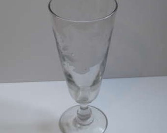 Large Friendship Wine Glass - French Circa 1830