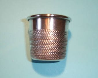Small Silver Plate Thimble Spirit Measure 1oz