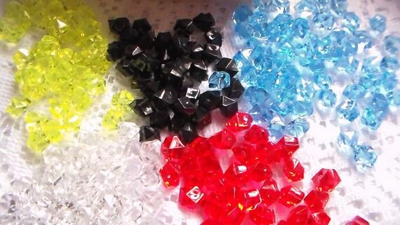 Acrylic Plastic Ice Rock Ice Rock Colored Ice Rock Acrylic Etsy