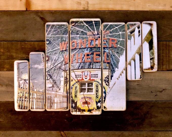 Wonder Whell, Coney Island - 38x24in.