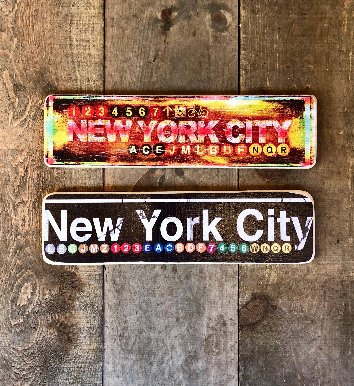 New York City 4x15 In