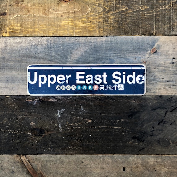 Upper East Side - 4x15 in.