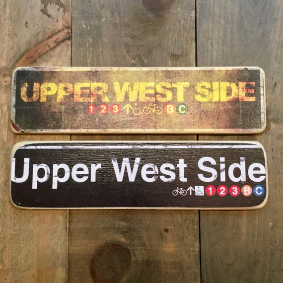 Upper West Side - 4x15 in.