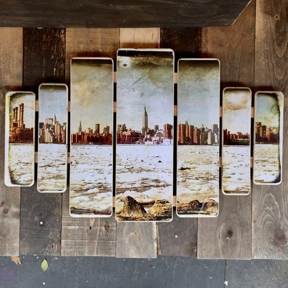 Manhattan skyline - 38x24inches