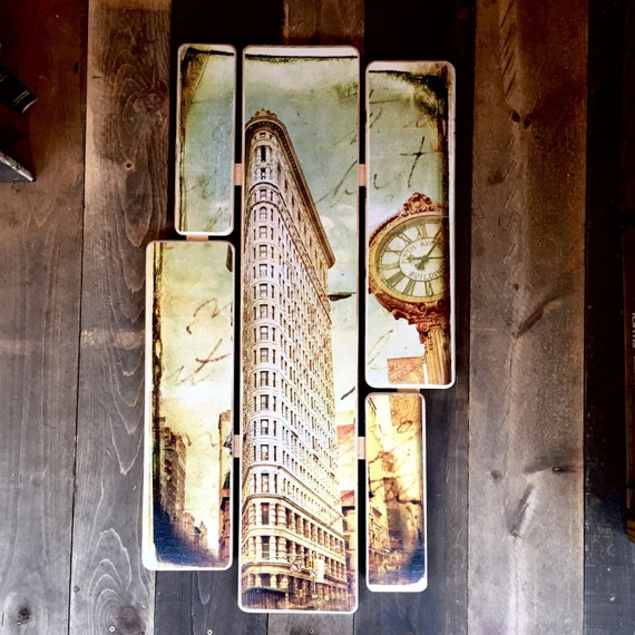Flat iron building - 38x20inches