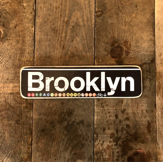 Brooklyn - 4x15 in.