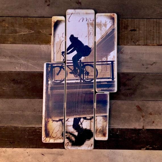 Bike guy 38x24in