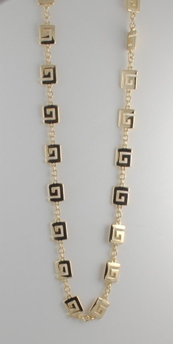 "Trifari Vintage 36"" Heavy Gold Plated Chain Rare T"