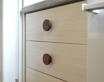 Wood Drawer Pull - Cabinet Pull - Solid wood Pulls