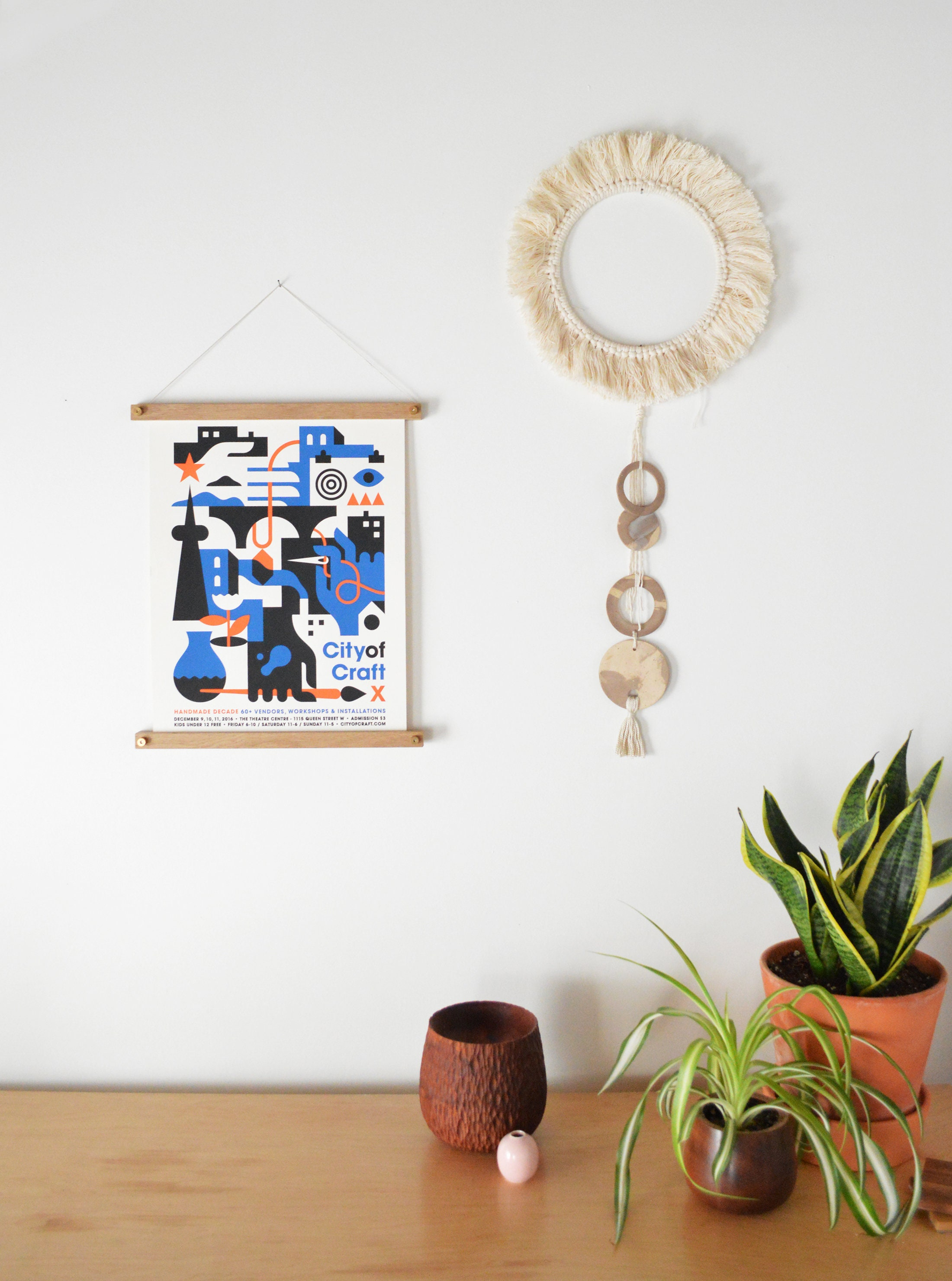 Holz-Poster Aufhänger Druck Aufhänger Holz Foto Aufhänger   Etsy
