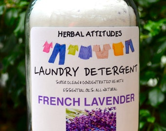 FRENCH LAVENDER Laundry Detergent - All Natural with Essential Oil