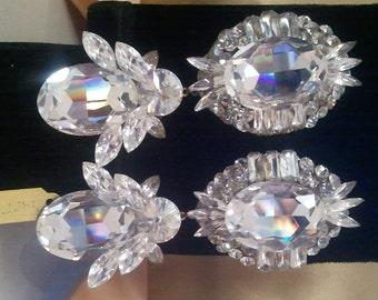 Dangling Swarovski Crystal Earrings