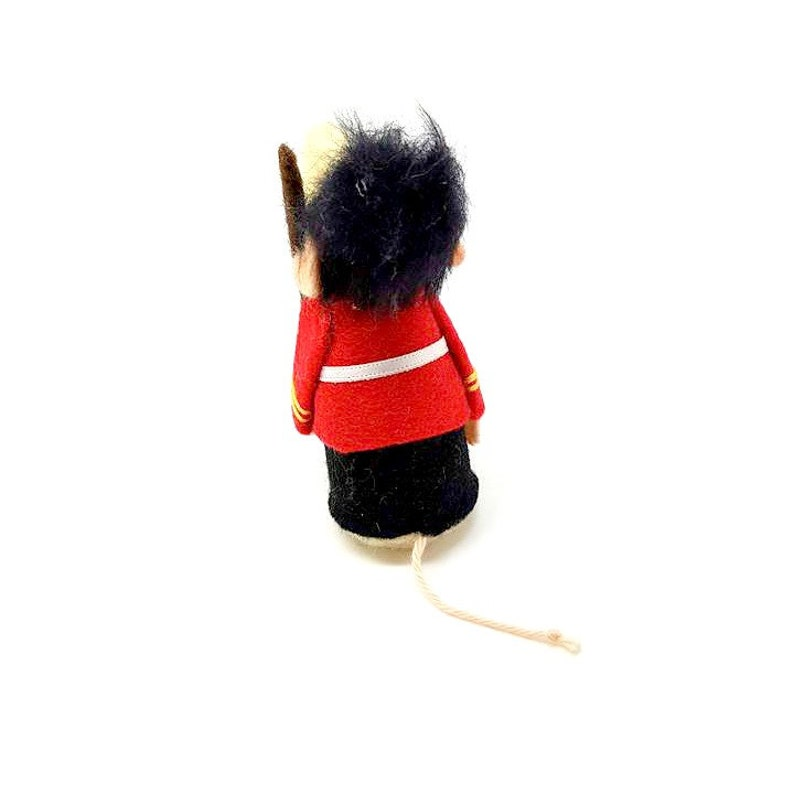 Queens Guard Mouse beefeater felt mouse A mouse from London