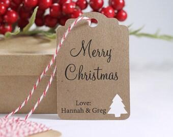 242c88f507b04 Christmas tree tags   Etsy