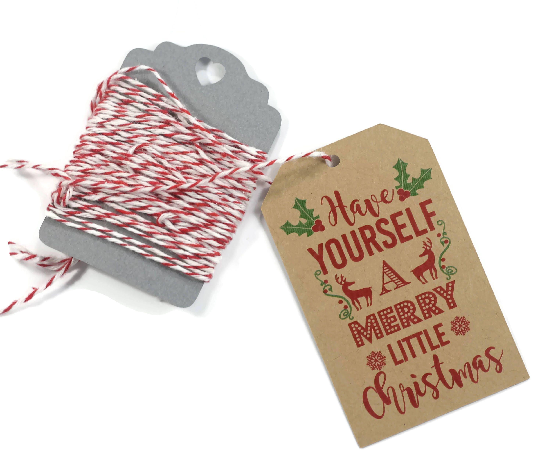 Frohe Weihnachten Geschenkanhänger 10 pc Urlaub Tags in | Etsy