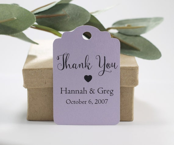 """30 1.5/"""" Scalloped Round Baby Shower Hand Sanitizer Favor Tags"""