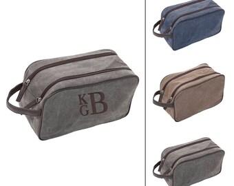 Groomsmen Bag, Groomsmen Gift, Mens Bag, Dopp Bag, Men's Dopp Kit, Unique Groomsmen Gift, Custom Groomsmen Gift, Men's Personalized Gift