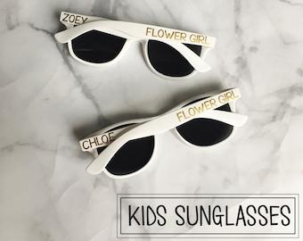 KIDS Personalized Sunglasses - Ring Bearer Flower Girl Gift