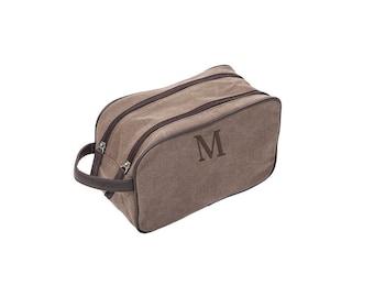 Father Gift, Mens Bag, Dopp Bag, Men's Birthday Gift, Men's Dopp Kit, Groomsmen Gift, Custom Groomsmen Gift, Men's Personalized Gift