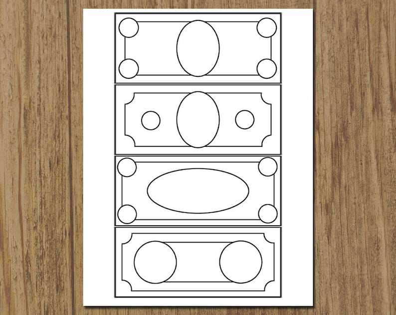 picture relating to Play Money Printable known as Printable Childrens Participate in Economic Coloring Sheet - Do-it-yourself Quick Obtain - 8.5 x 11 Coloring Sheet - Homeschool Math - Bogus Fiscal