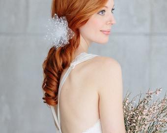 "Wedding hair flower  - ""Mila"""