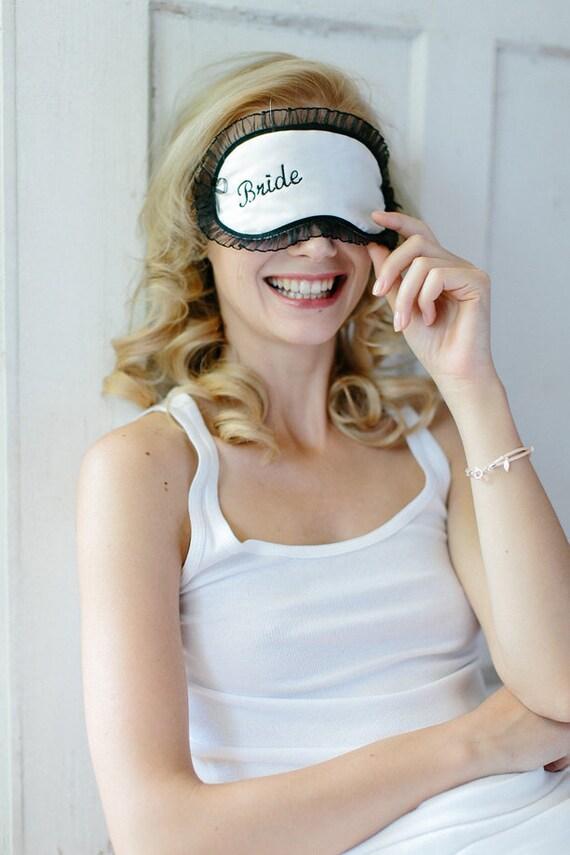 """Schlafbrille """"Braut"""""""