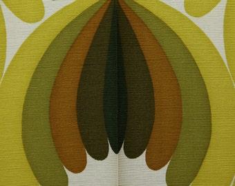 Green / White Fabric design pattern 60s
