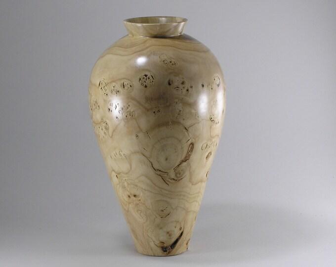 Wooden Vase from Tulip Poplar