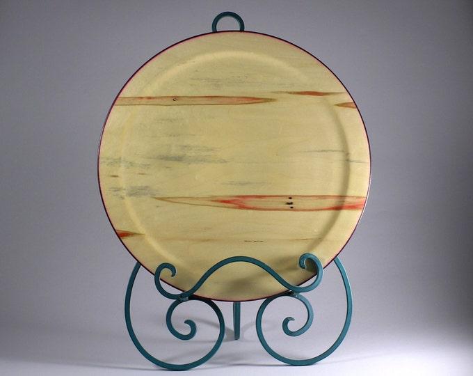 Platter from boxelder