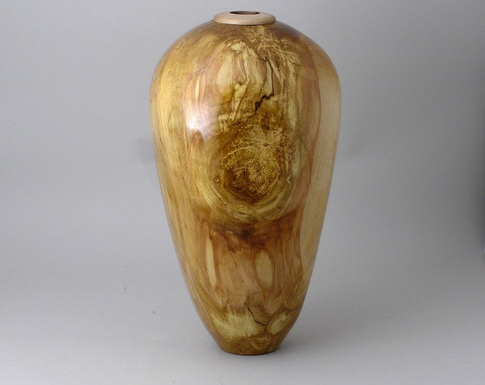 Vase made from birch